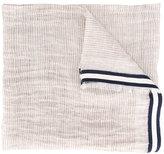 Canali frayed edge scarf