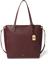 Ralph Lauren Faux-Leather Abby Zip Tote