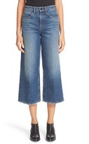 Alexander Wang Women's 'Drill' High Rise Wide Leg Crop Jeans