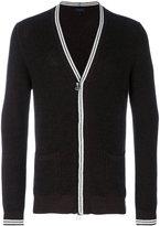 Lanvin zipped cardigan - men - Cotton/Wool - S