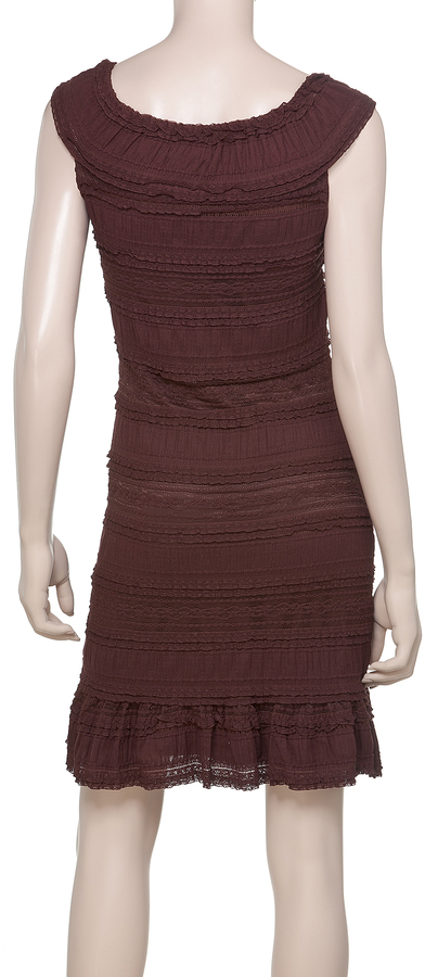 Max Studio Tier Lace Dress