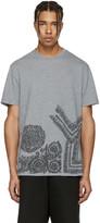Versace Grey Baroque T-Shirt