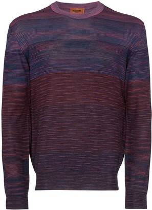Missoni Marled-Knit Stripe Jumper