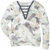 Vintage Havana Girls' Strap Front Camouflage Top - Sizes S-XL