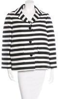 Kate Spade Striped Casual Jacket w/ Tags