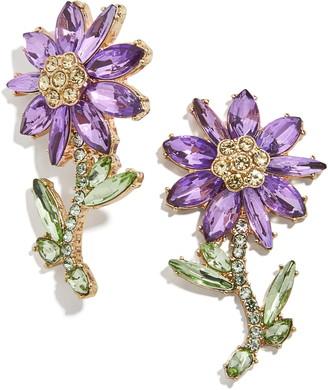 BaubleBar Magnolia Statement Earrings