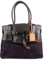 Reed Krakoff Denim Boxer Bag