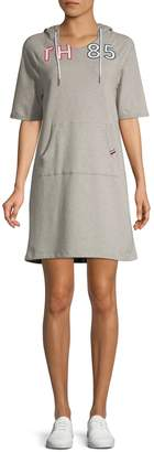 Tommy Hilfiger Short Sleeve Hoodie Dress