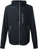 Officine Generale hooded zip jacket