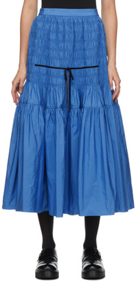 Molly Goddard Blue Donnika Skirt