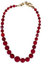 Oscar de la Renta Bead Strand Necklace