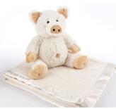 Baby Aspen Pig Stuffed Animal & Blanket Set