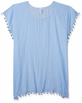 Seafolly Women's Cotton Gauze Midi Cover Up Caftan