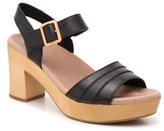 Earth Chestnut Platform Sandal