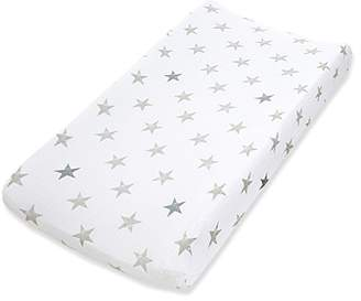 Aden Anais Aden By Aden + Anais Burpy Bibs 100% Cotton Muslin Changing Pad Cover Dusty