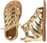 Osh Kosh OshKosh Metallic Gladiator Sandals