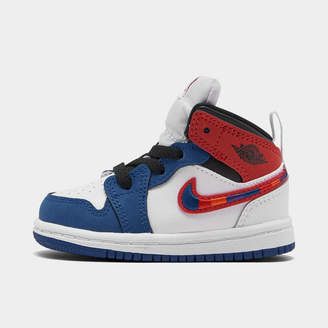 Nike Kids' Toddler Air Jordan 1 Mid SE Casual Shoes