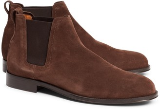 Brooks Brothers Suede Chelsea Boots