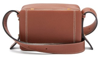 Lutz Morris Maya Large Grained-leather Cross-body Bag - Brown