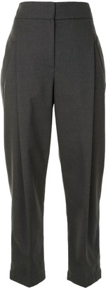 Brunello Cucinelli Cropped Tapered-Fit Trousers