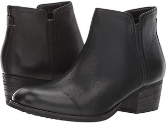 Clarks Maypearl Ramie (Black Leather) Women's Boots