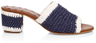 Carrie Forbes Jole Woven Mules