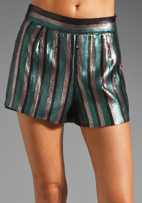 Rory Beca Jah Sequin Shorts