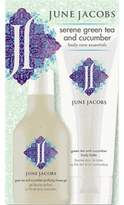 June Jacobs Serene Green Tea and Cucumber Body Care Kit