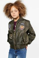Boohoo Girls MA1 Badged Bomber Jacket