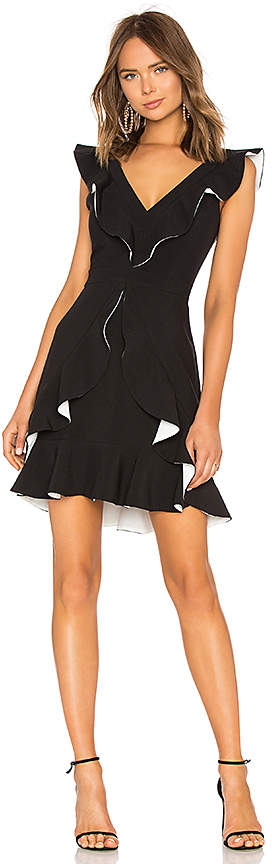 Aijek Verona Ruffled Dress