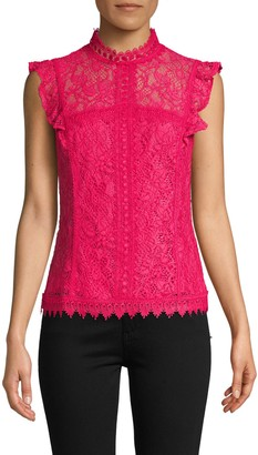 Laundry by Shelli Segal Lace Sleeveless Top