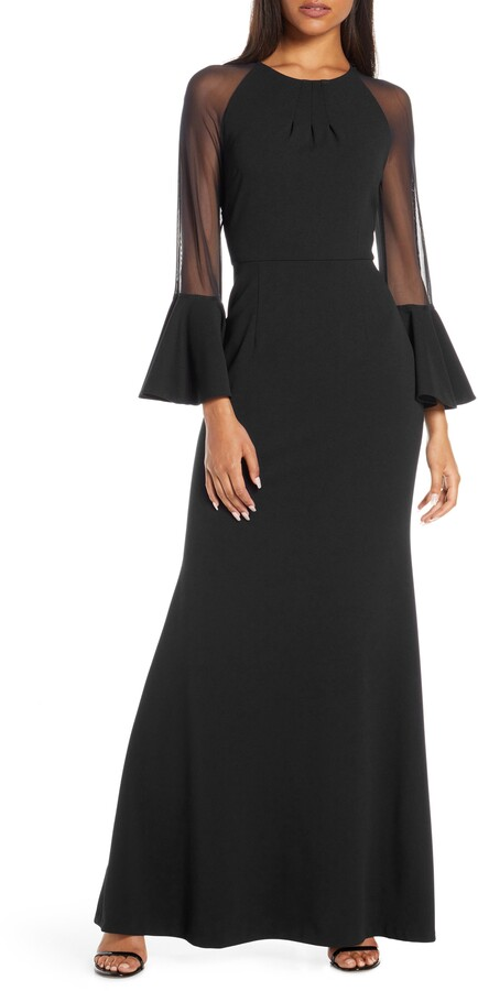 784892fe745dd Long Sleeve Evening Gowns - ShopStyle