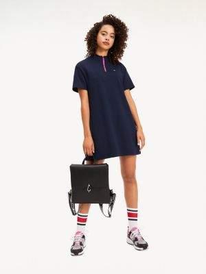 Tommy Hilfiger Contrast Zip Dress