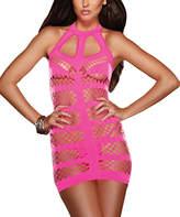 Dreamgirl Halter Dress & Thong
