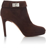 Givenchy Women's Shark Line Ankle Boots-BROWN, DARK BROWN