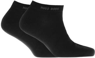 Boss Business HUGO Two Pack Trainer Socks Black