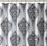 INTELLIGENT DESIGN Intelligent Design Sydney Damask Shower Curtain