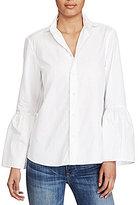 Polo Ralph Lauren Broadcloth Bell Sleeve Shirt