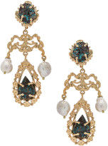 Liliana Christie Nicolaides Earrings in Gold & Turquoise | FWRD