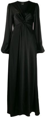 Pinko Empire Line Maxi Gown