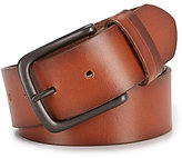 Daniel Cremieux Elevated Two-Tone Loop Leather Belt