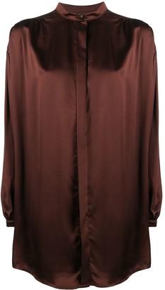 Le Kasha Nara oversized silk shirt
