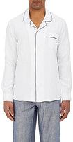 Zimmerli Men's Bon Vivant Cotton-Linen Pajama Shirt