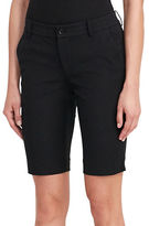 Lauren Ralph Lauren Cotton-Blend Twill Shorts