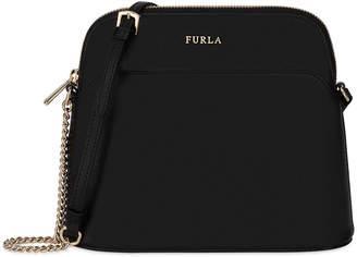 Furla Miky XL Saffiano Leather Crossbody Pouch Bag