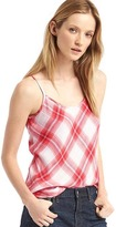 Gap Soft plaid long cami