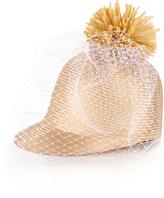 Federica Moretti Anna raffia pompom straw hat