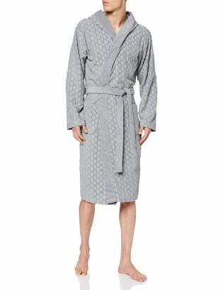 HUGO BOSS Men's Logo Terry Gown Dressing