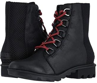 Sorel Phoenix Short Lace (Black) Women's Lace-up Boots