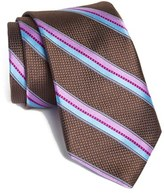 Ted Baker Men's Stripe Woven Silk Tie
